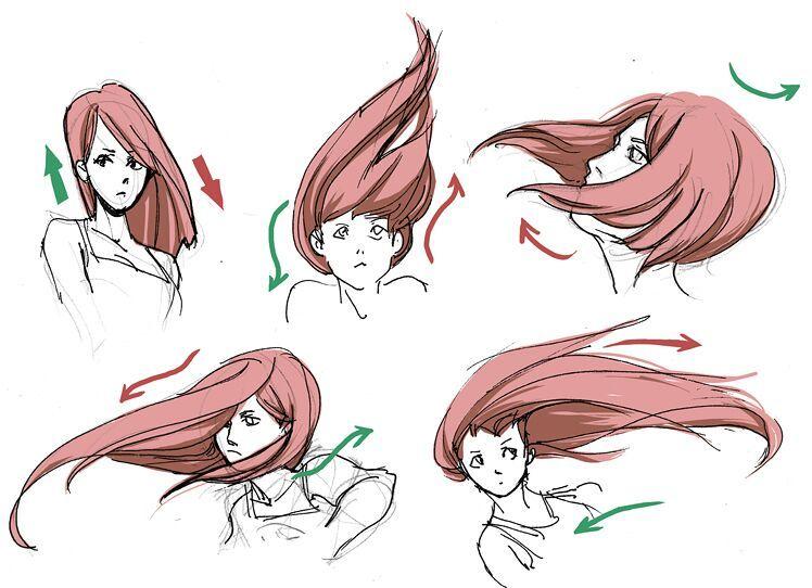 Hair Style References: REFERENCIAS: PELO,OJOS Y PIES