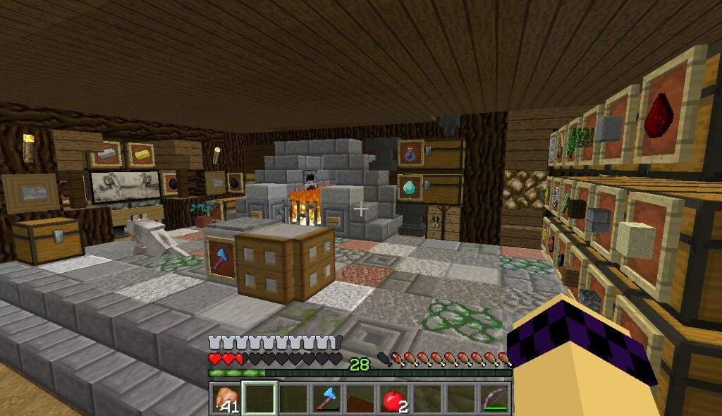 Interior Of My House On Beecraft Minecraft Amino