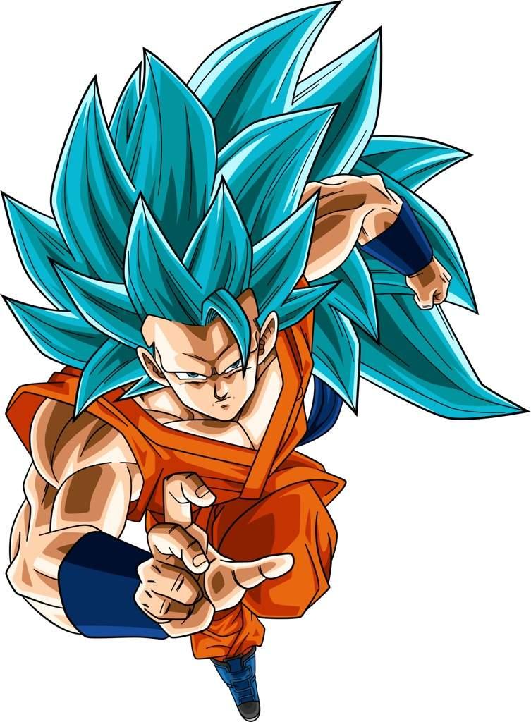 Ssjb Son Goku Dragonballz Amino