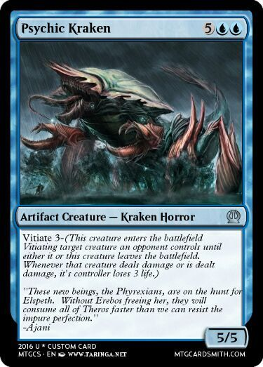A Small Handful Of Fan Made Phyrexian Theros Invasion Cards Mtg Amino