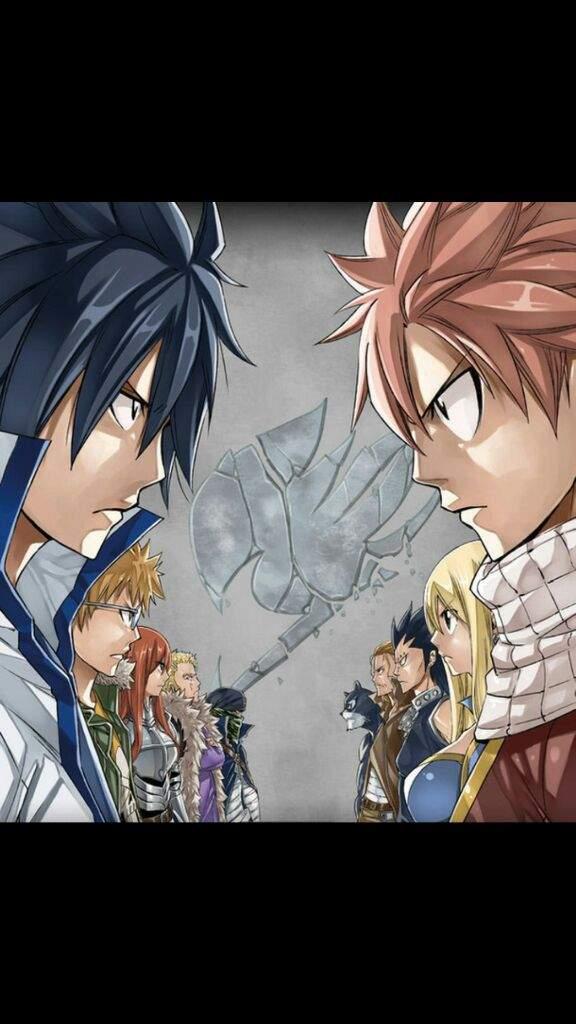 Etherious Natsu Dragneel vs Gray Fullbuster   Anime Amino  Gray Fullbuster And Natsu Dragneel