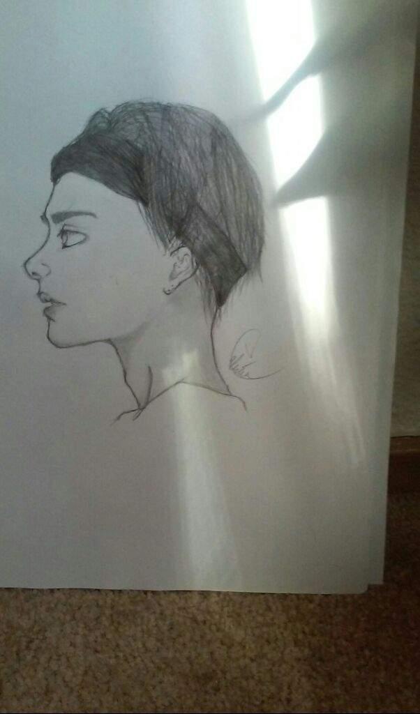 Bts V Drawing K Pop Amino