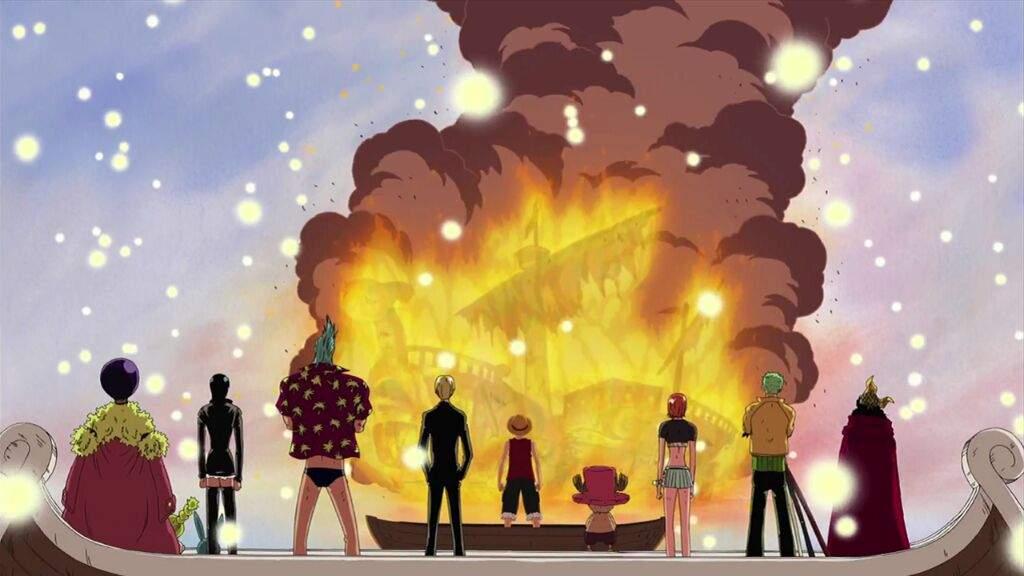 La Despedida Del Going Merry Anime Amino