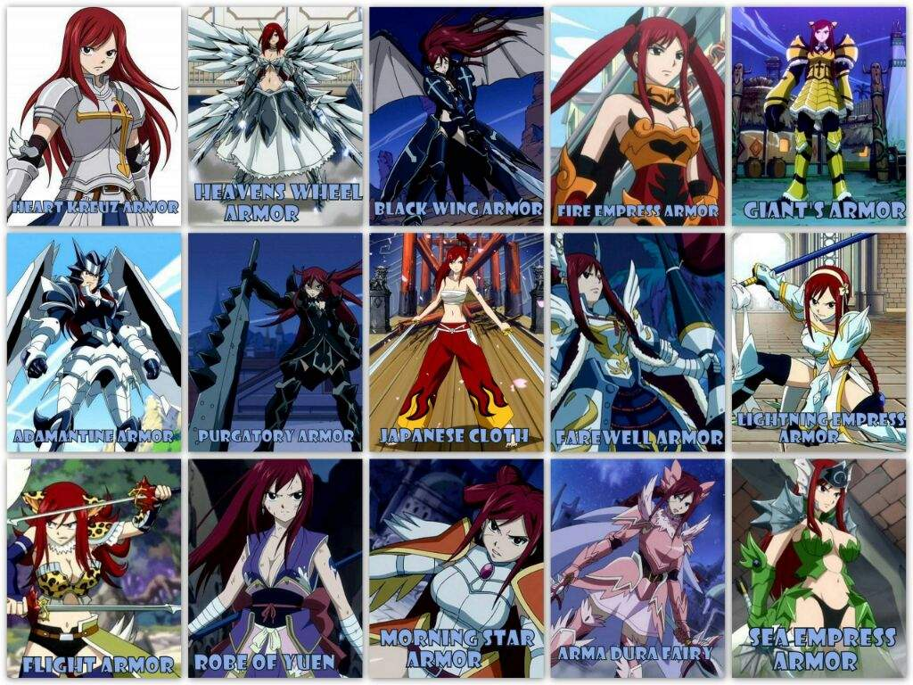 What S Erza S Best Armor Anime Amino