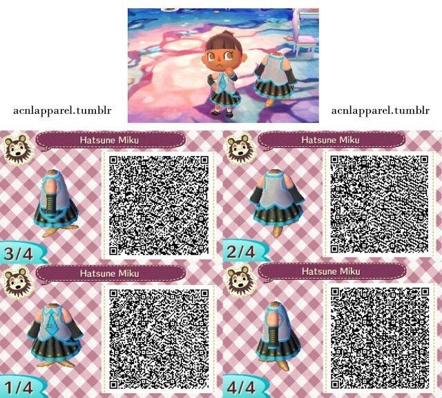 Vocaloid Qr Codes Wiki Animal Crossing Amino