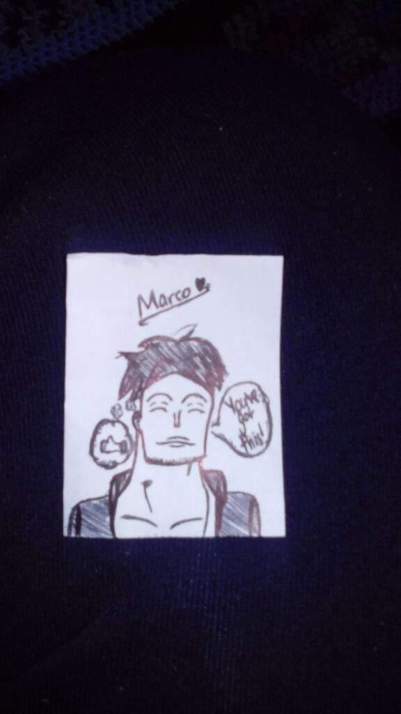 ✏Mini Marco Drawing!✏ | One Piece Amino