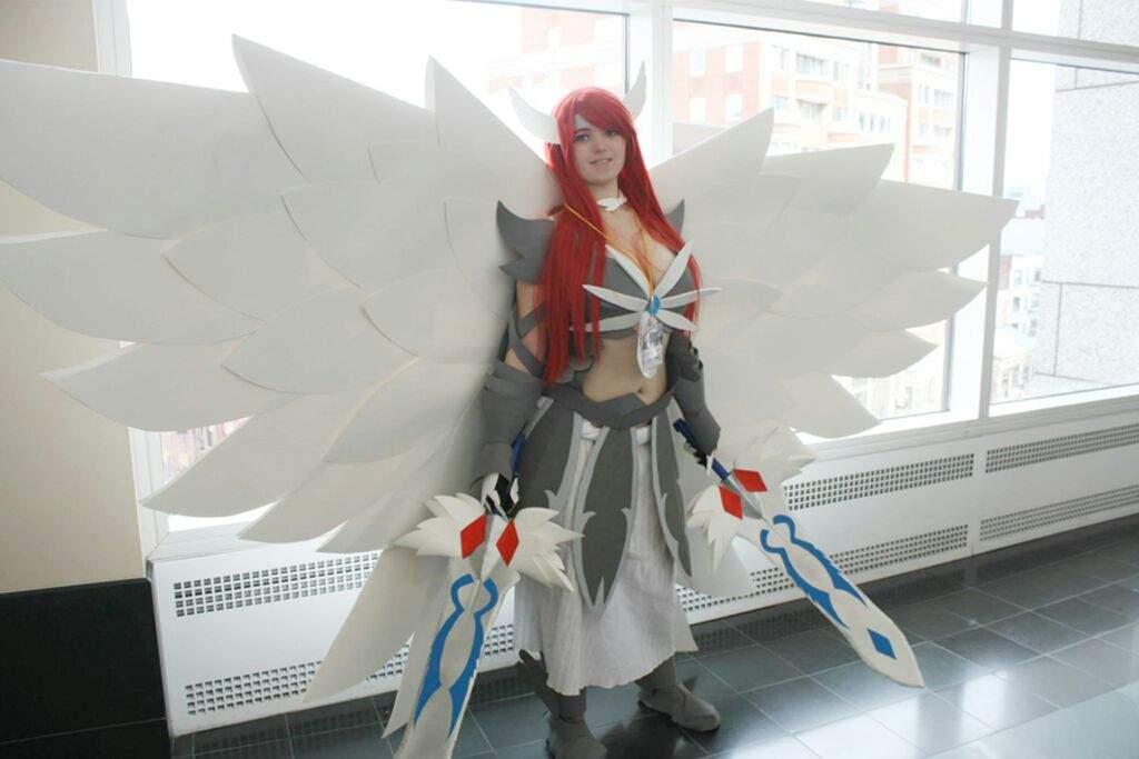 Erza Scarlet Heaven S Wheel Armor Fairy Tail Cosplay Amino