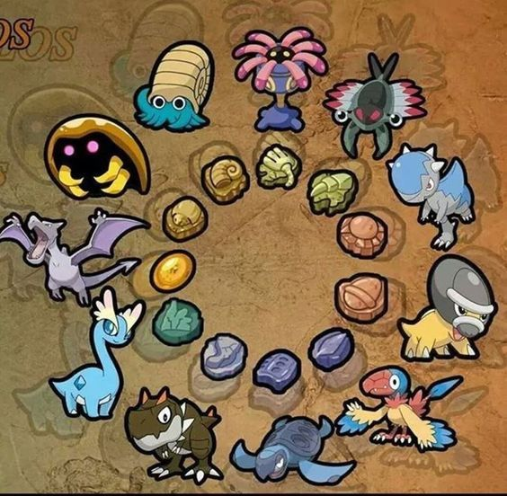 Pokemon Theory: Fossil Pokemon and What it Means for ...