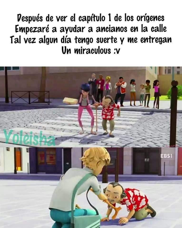 Abuelitos Miraculous Ladybug Español Amino