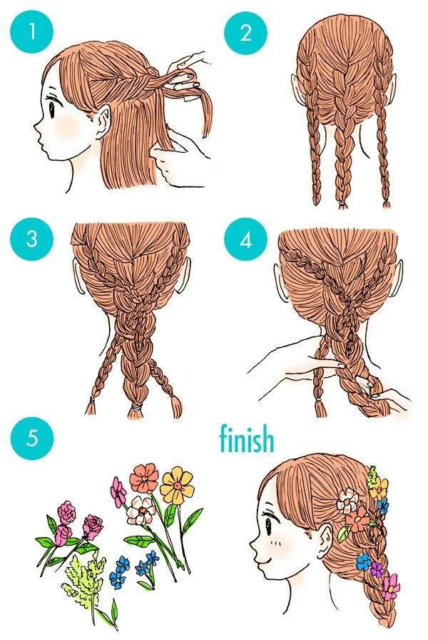 Simple y con estilo peinados kawaii Fotos de tendencias de color de pelo - Peinado kawaii | •K-Pop• Amino