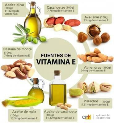 E vitamina en capsulas de propiedades la