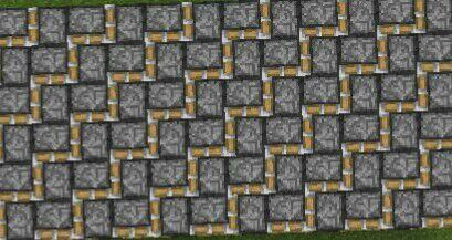 5 Cool Floor Patterns Using Pistons Minecraft Amino