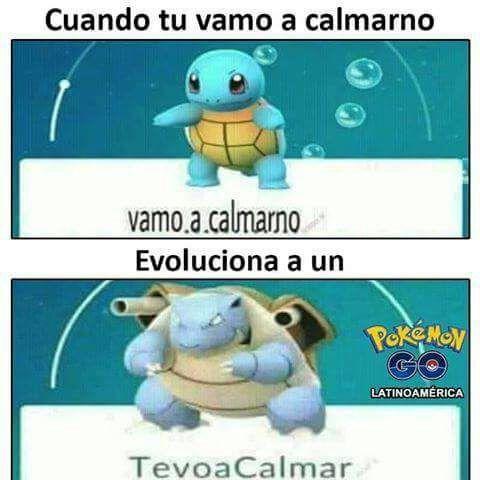 Vamo A Calmarno Squirtle Y Bulbasaurpokemon