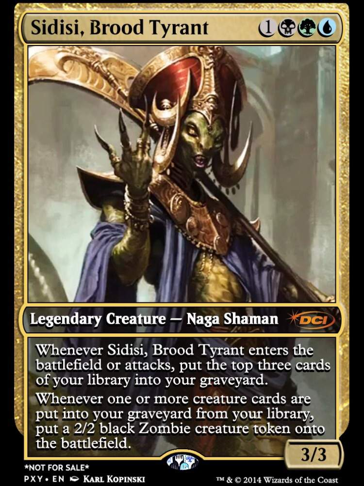 Sidisi Brood Tyrant Edh