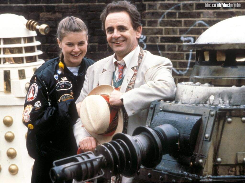 Happy Birthday Sylvester McCoy and Sophie Aldred ...