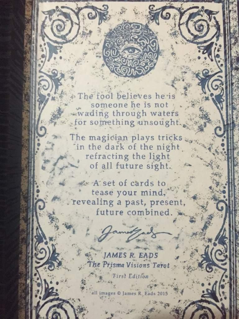 Prisma Visions Tarot | Tarot and Divination Amino