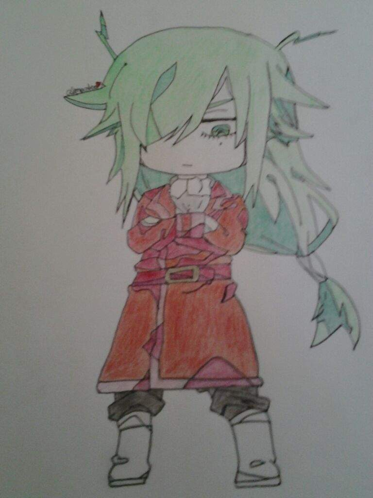 My Drawing Of Chibi Freed Accepting New Ideas Anime Amino