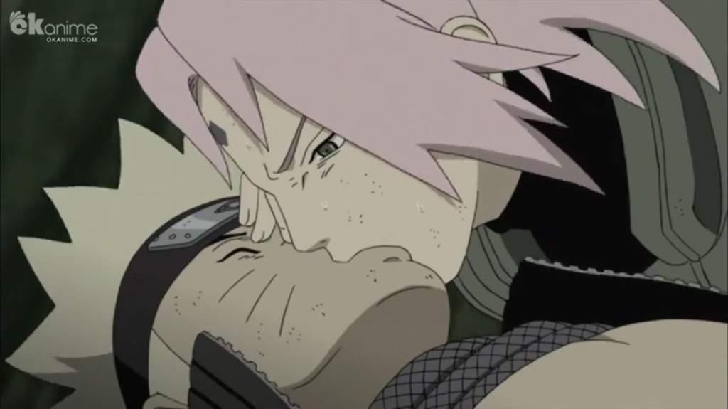 sakura kiss naruto anime amino