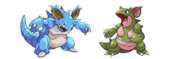 pokemon nidoqueen and nidoking breed - 600×200