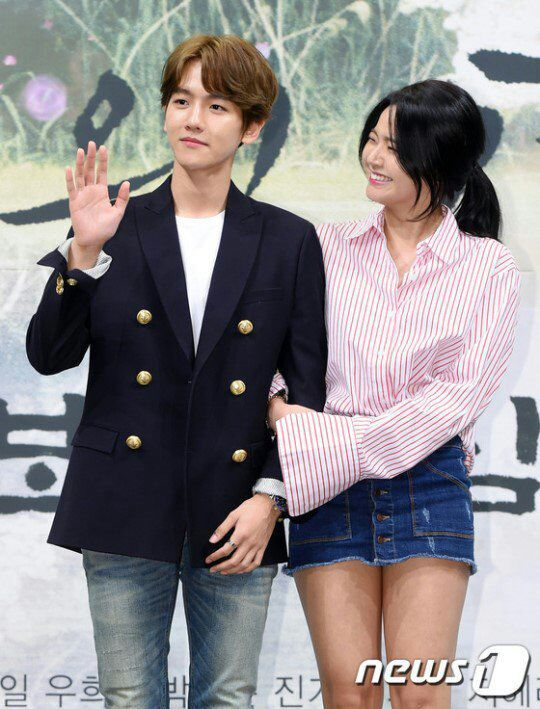 160824 Exo Baekhyun At Moon Lovers Scarlet Heart Ryeo Press