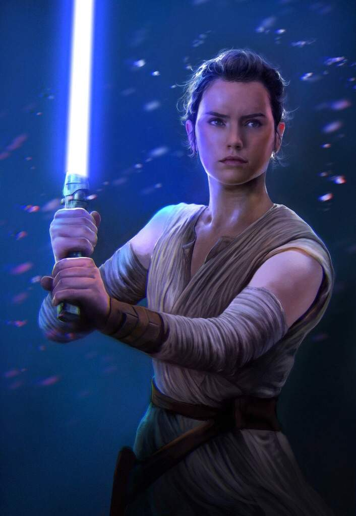 What will Reys Lightsaber color be?   Star Wars Amino