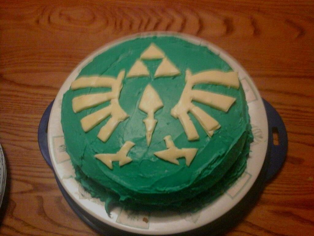 Zelda Themed Birthday Cake The Legend Of Zelda Amino