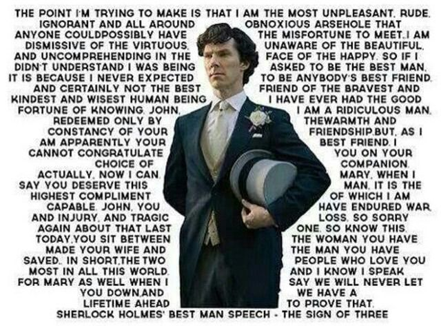 Homoromantic asexual sherlock
