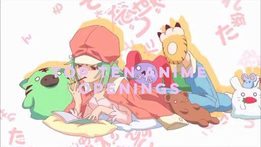 My Top Ten Anime Openings