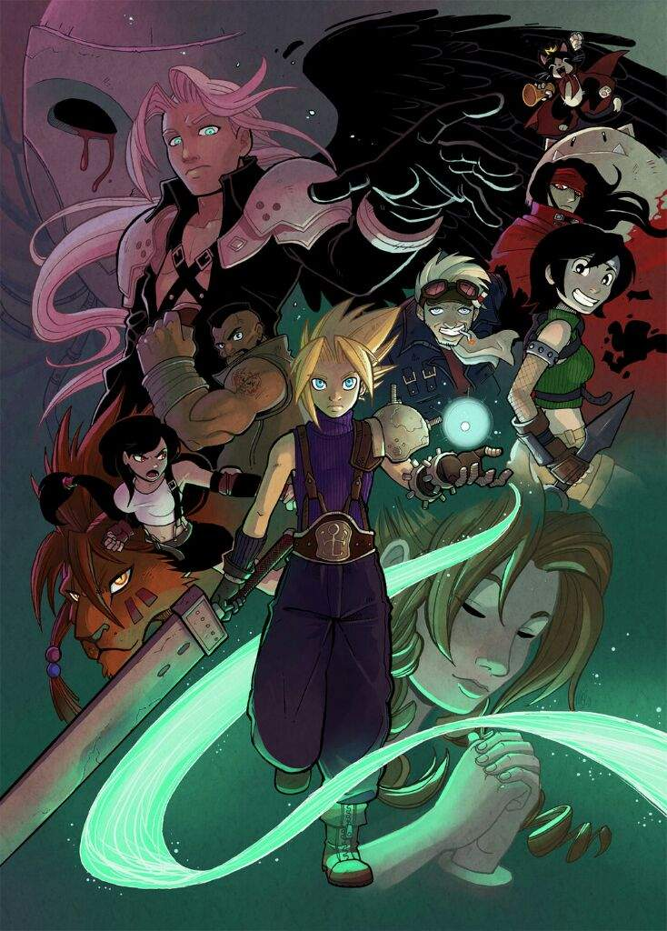 Final Fantasy 7 Fan Art 1 Anime Amino