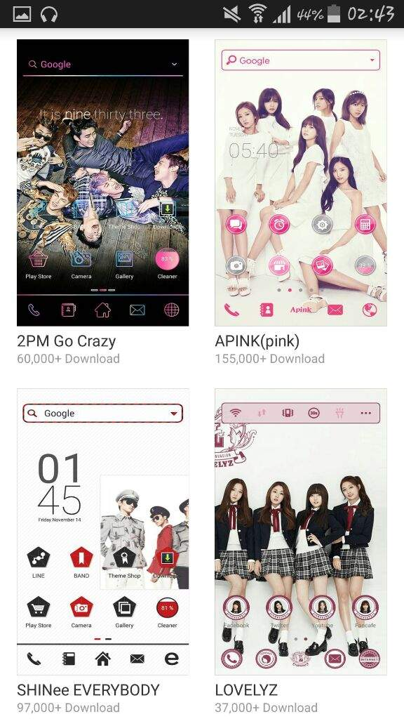 LINE Launcher – Android Apps on Google Play | K-Pop Amino
