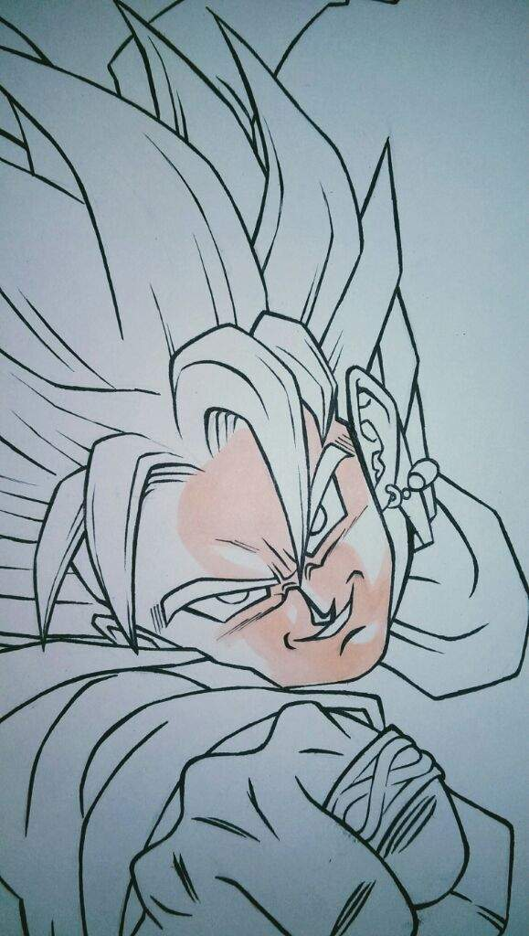 goku black super saiyan rose drawing! | anime amino
