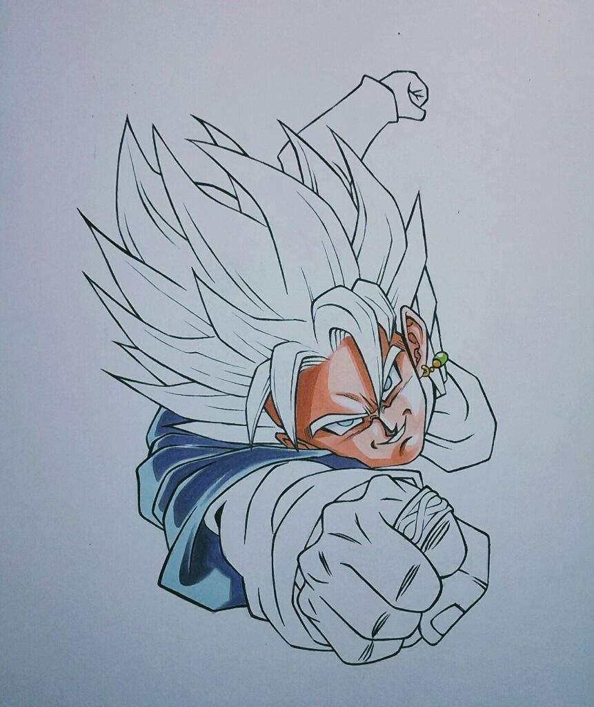 Goku Black Super Saiyan Rose drawing! | Anime Amino