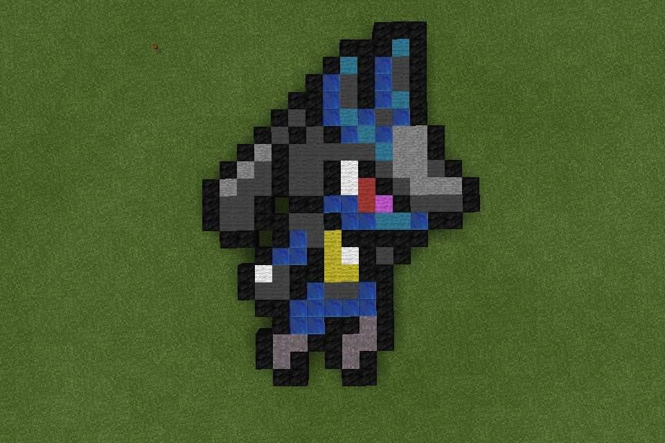 Minecraft pokemon pixel art | Pixel Art Amino