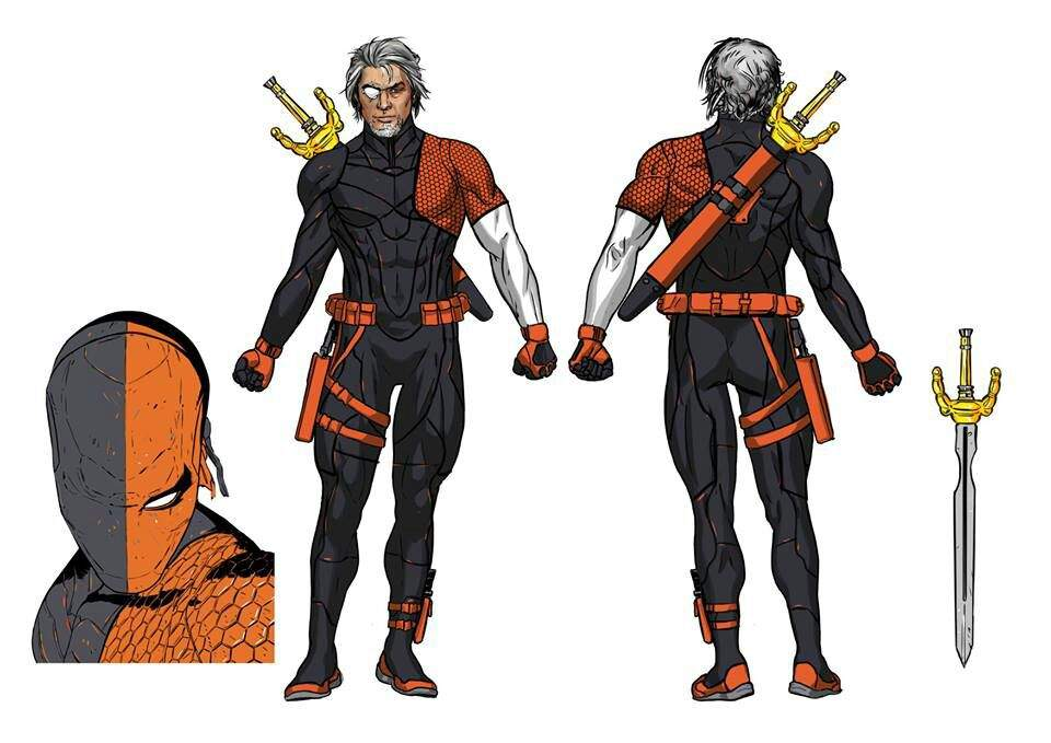 And one of the many things I love about it is the new costume for deathstroke. Now the suit itself can use the kinetic energy from damage attacks ...  sc 1 st  Amino Apps & Top 5 deathstroke costumes | Comics Amino