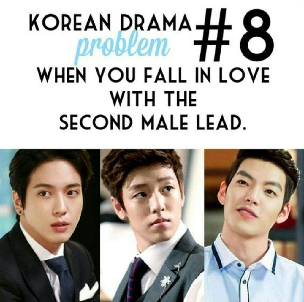 What Kdrama made you have second male lead syndrome REALLY