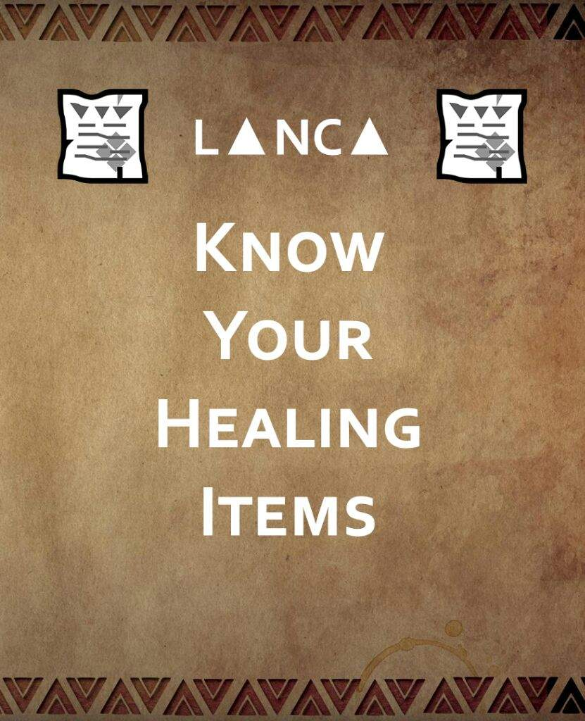 Know your healing items! | Monster Hunter Amino
