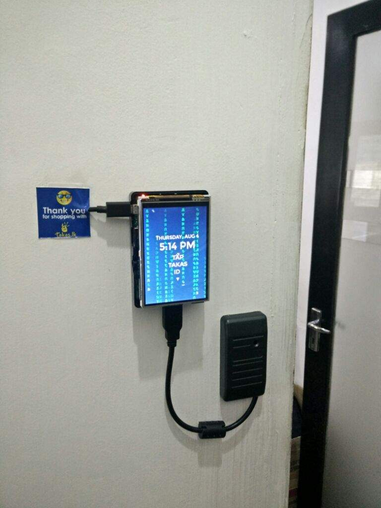 Raspberry Pi based RFID time attendance | Maker Amino