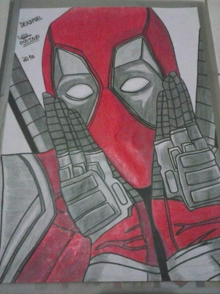 Desenho Do Deadpool Comics Português Amino