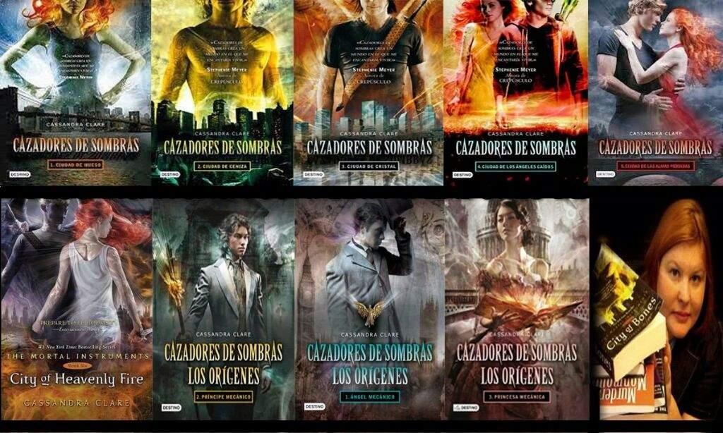 Book Tag  Cazadores De Sombras