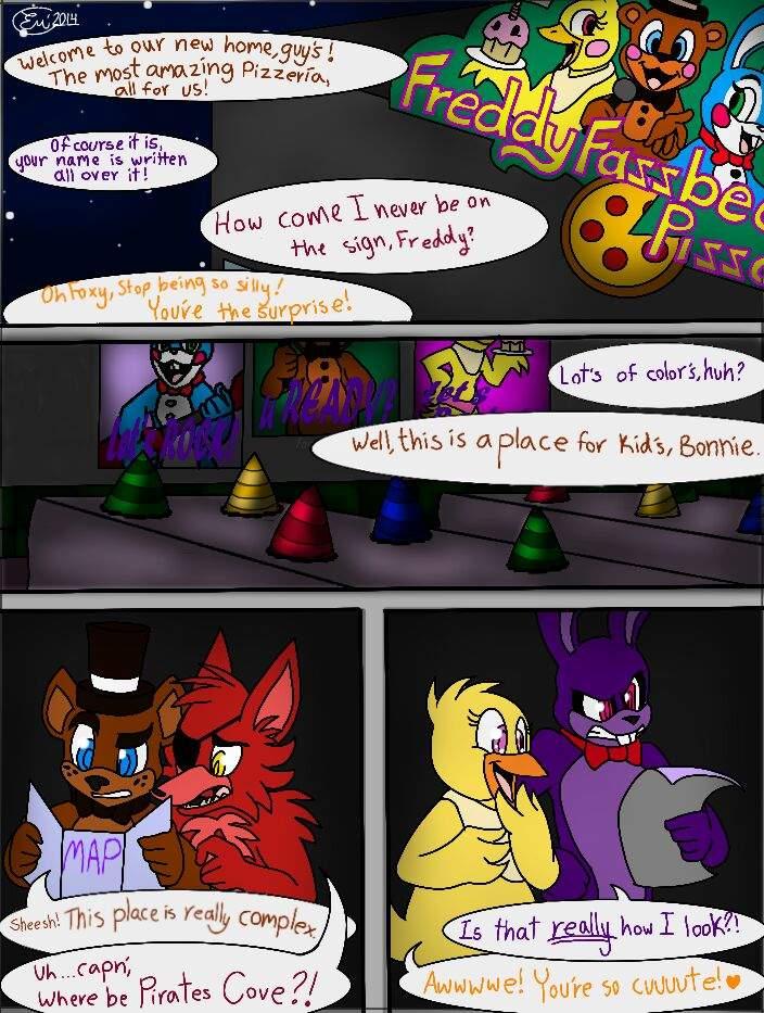 fnaf 2 comic | Tumblr