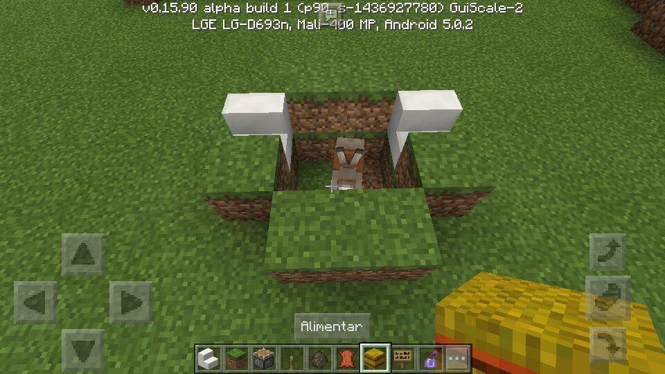 Como Sentarse En Minecraft Pe 0160 015x Sin Mods Minecraft