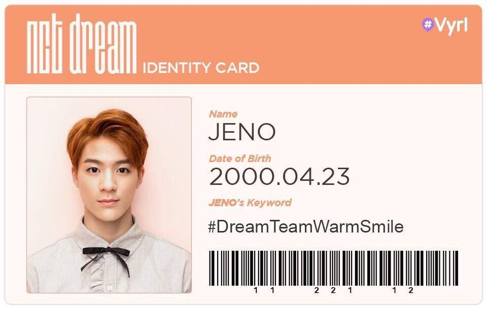 Dating jeno would include