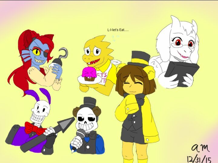Fnaut Five Nights At Undertale Undertale Amino