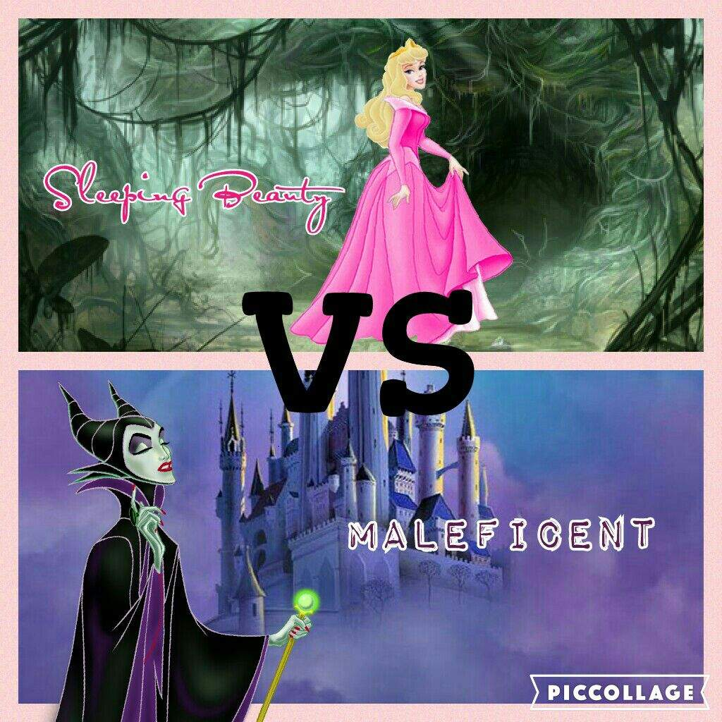 Animated Vs Live Action Sleeping Beauty Maleficent