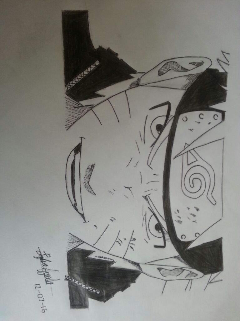 Naruto Blanco y Negro  Arte Amino Amino