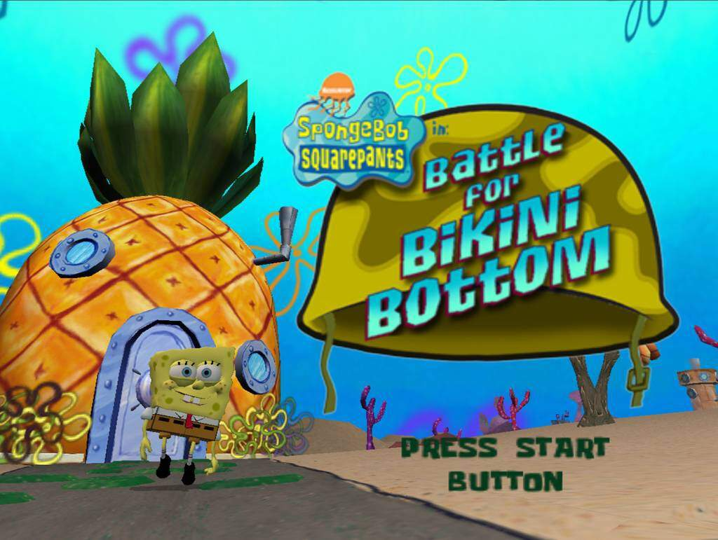 Unfortunately! You spongebob batle for bikini