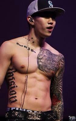 Corea tatuado