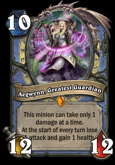 This is my entry for #ourexpansion2, Aegwynn, Greatest Guardian!