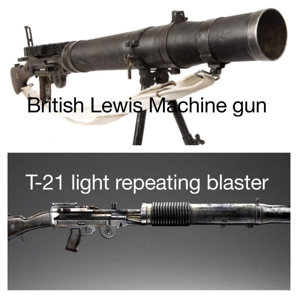 Star Was Blasters that based on World Wars Guns | Star Wars