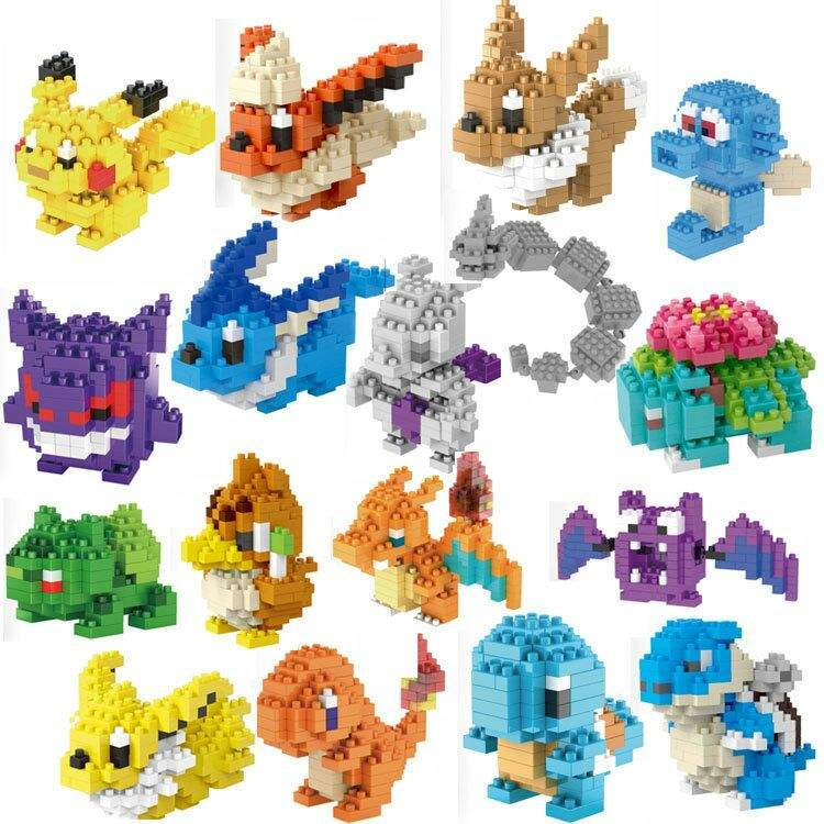 Building All The Pokemon Nanoblocks Pokmon Amino